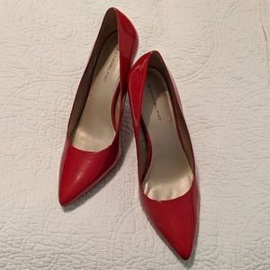 Bandolino Red Pumps  3.5""